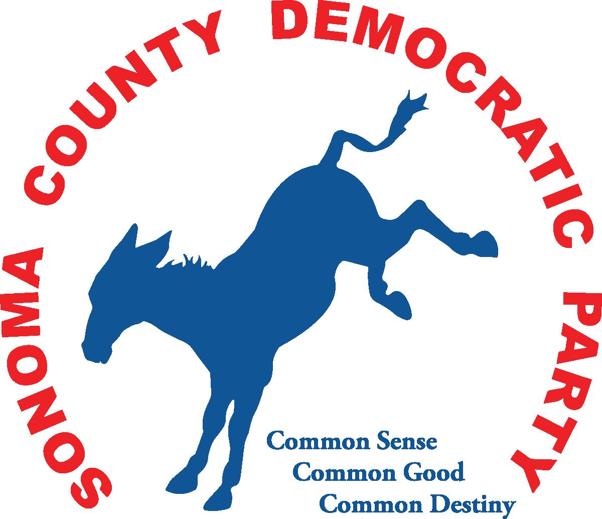 Sonoma County Democratic Party Logo
